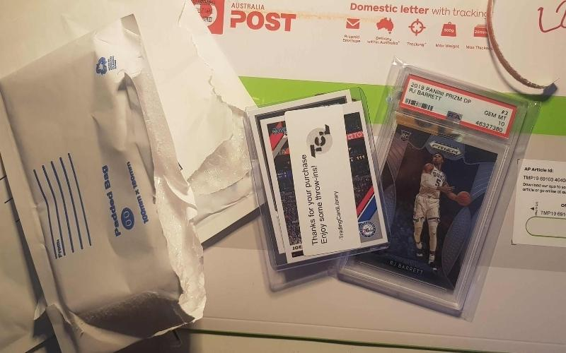 how to ship baseball cards
