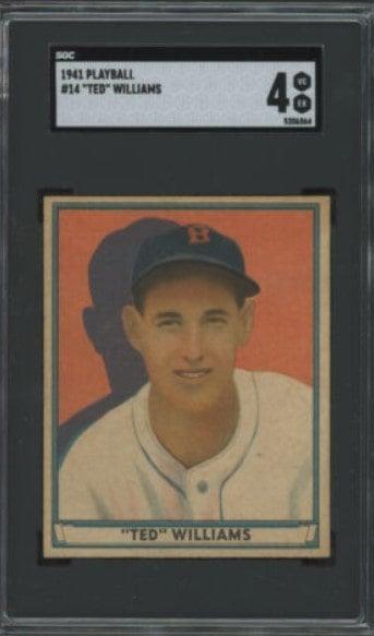 1941 Play Ball #14 Ted Williams1941 Play Ball #14 Ted Williams