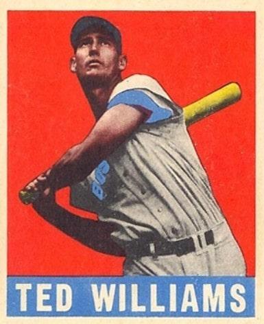 1948 Leaf #76 Ted Williams