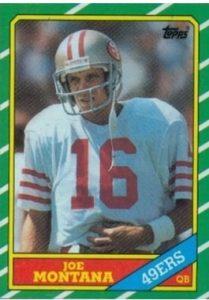 1986 Topps Joe Montana #156