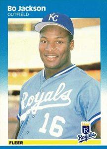 1987 Fleer Glossy Bo Jackson #369