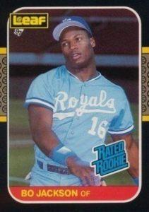 1987 Leaf Bo Jackson #35