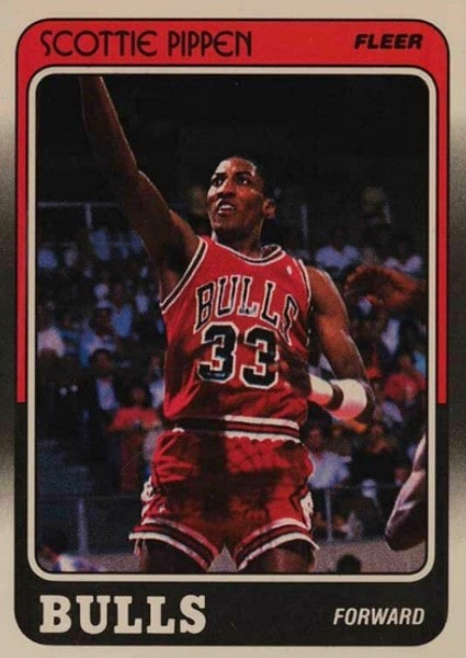 1988/89 Fleer Scottie Pippen #20 Rookie Card