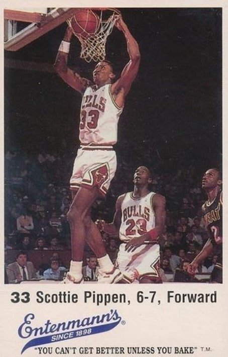 1988 Entenmann's Scottie Pippen