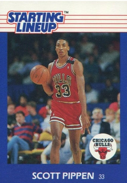 1988 Kenner Starting Lineup Scottie Pippen