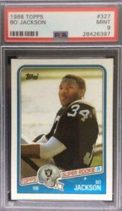 1988 Topps Bo Jackson RC #327
