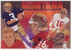 1991 Upper Deck Heroes Joe Montana Auto #9