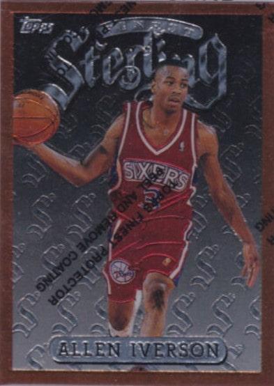 1996/97 Finest Allen Iverson RC #69
