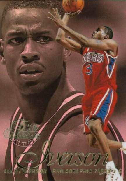 1996/97 Flair Showcase Allen Iverson RC #3