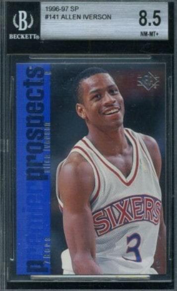 1996/97 SP Allen Iverson RC #141