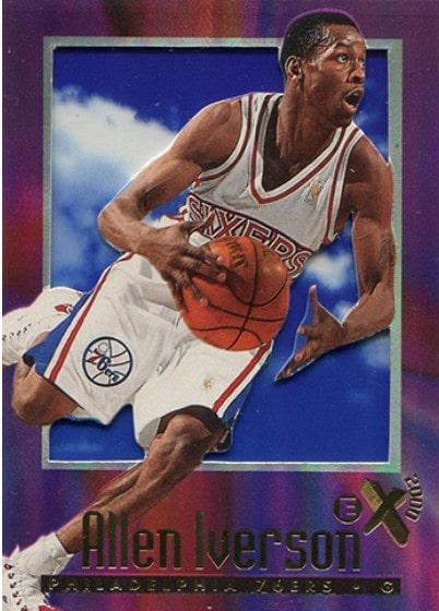 1996/97 Skybox E-X2000 Allen Iverson RC #53