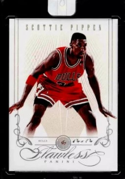 2012 Panini Flawless Diamond Gems #90 Scottie Pippen