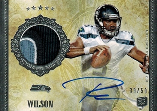 2012 Topps Five Star Russell Wilson RC #159