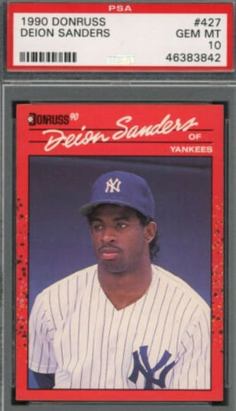 1990 Donruss Deion Sanders RC #427