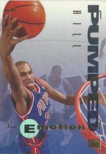 1994/95 Skybox Emotion Grant Hill Rookie Card #28