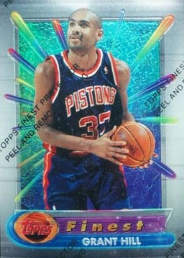 1994 Finest Grant Hill Rookie Card #240