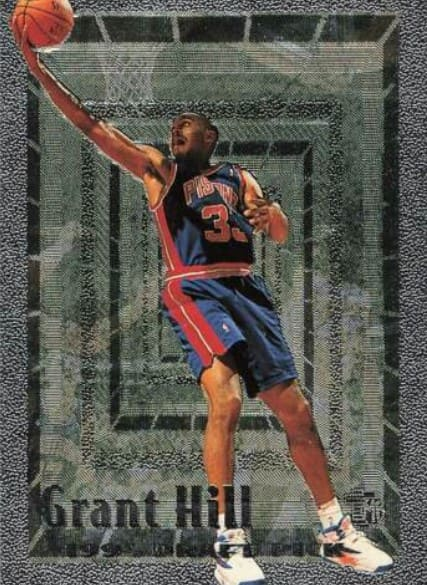 1994 Topps Embossed Grant Hill RC #103