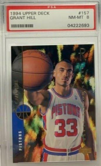 1994 Upper Deck Grant Hill RC #157