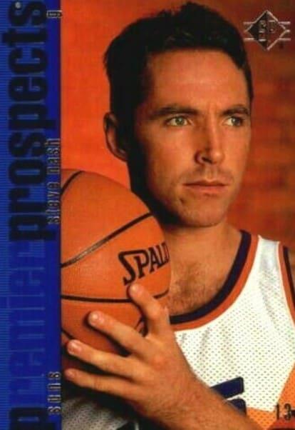 1996/97 SP Steve Nash Rookie Card #142