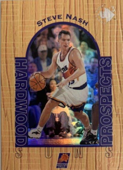 1996/97 UD3 Steve Nash Rookie Card #15
