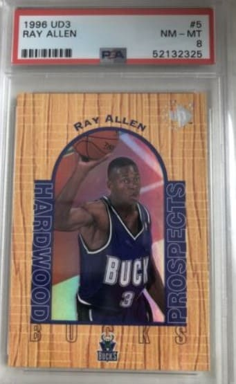 1996/97 Upper Deck UD3 Ray Allen RC #5