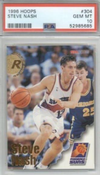 1996 Hoops Steve Nash Rookie Card #304