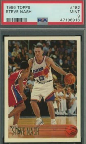 1996 Topps Steve Nash RC #182