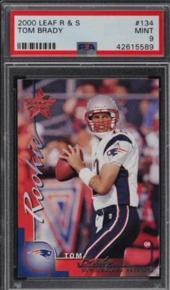 2000 Leaf Rookies and Stars Tom Brady RC #134