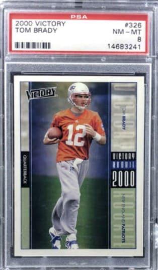 2000 Victory Tom Brady RC Patriots #326