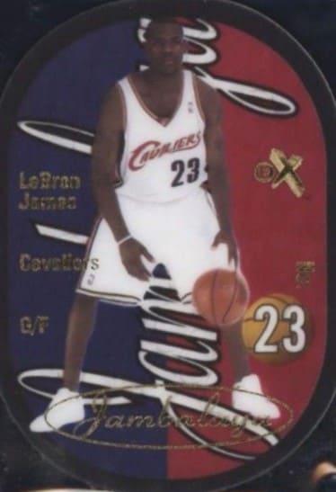 2003 E-X Jambalaya LeBron James RC