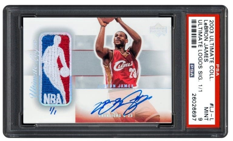 2003 Ultimate Collection Ultimate Logos Signature 1/1