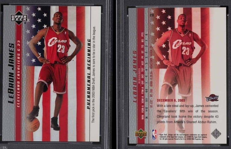 2003 Upper Deck Phenomenal Beginning LeBron James RC #20