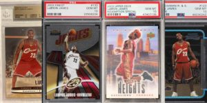 Best LeBron James Rookie Cards Worth Looking At for Featured Image