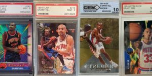 Grant Hill Rookie Card Checklist for Featured Image