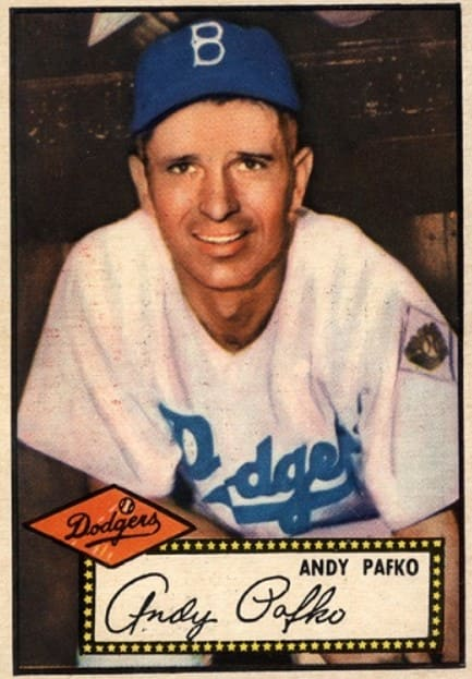 1952 Topps Andy Pafko #1
