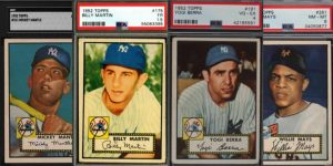 1952 Topps Baseball Cards for Featured Image