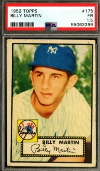 1952 Topps Billy Martin #175