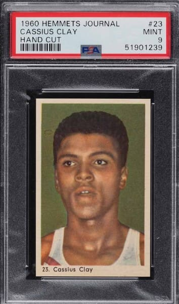 1960 Hemmets Cassius Clay Rookie Card #23