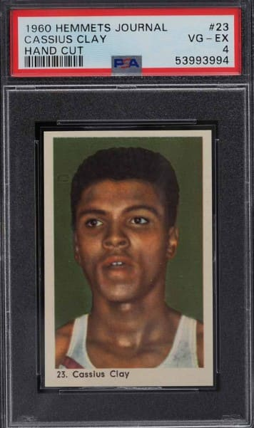 1960 Hemmets Journal Cassius Clay Rookie Card #23