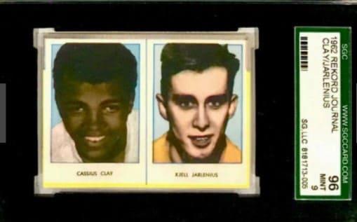 1962 Swedish Rekord Cassius Clay