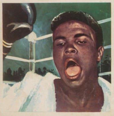 1964 Chocolates Simon Cassius Clay