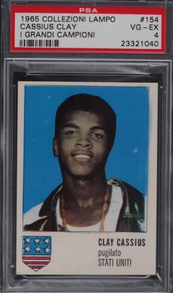 1965 Collezioni Lampo I Grandi Campioni Cassius Clay #154