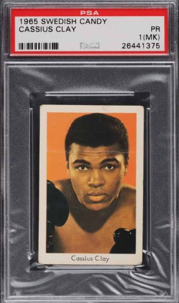 1965 Swedish Candy Cassius Clay