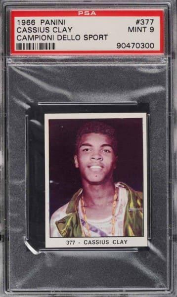 1966 Panini Campioni Dello Sport Cassius Clay #377