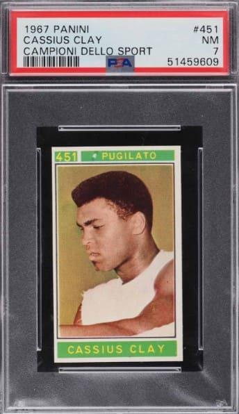 1967 Panini Campioni Dello Sport Cassius Clay #451