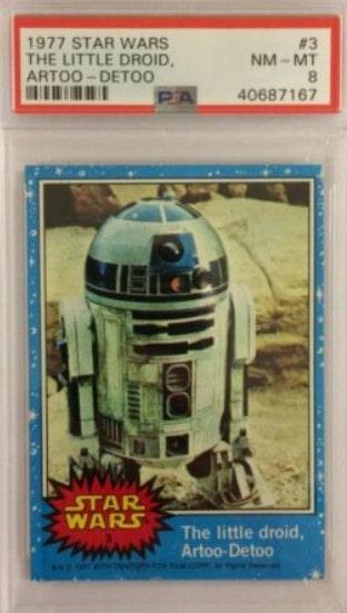 1977 Star Wars Series 1 #3 R2D2
