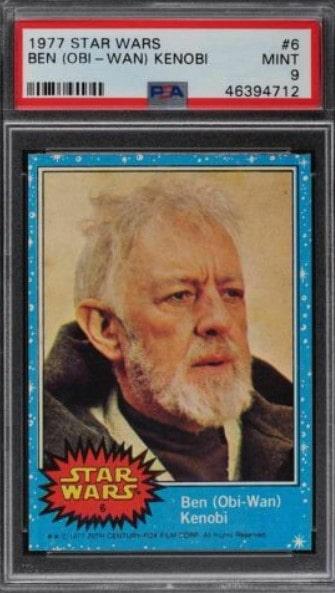 1977 Topps Star Wars Obi Wan Kenobi #6