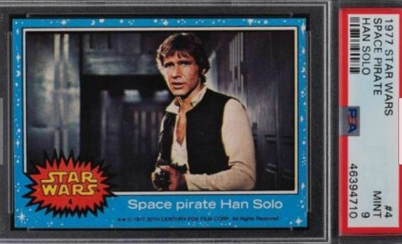 1977 Topps Star Wars Series 1 Han Solo #4