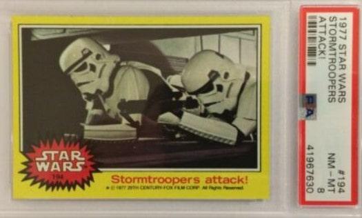 1977 Topps Star Wars Series 3 Strormtrooper #194