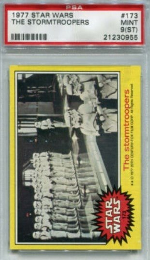 1977 Topps Star Wars Series 3 The Storm Troopers #173